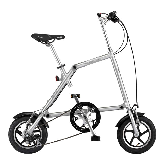 Nanoo FB-R 12''  Dual Speed bicicletta pieghevole in 10 secondi