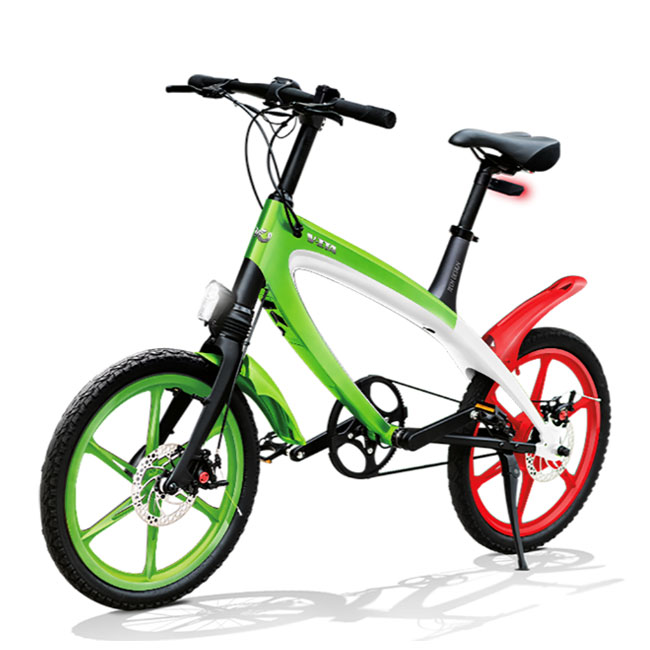 E-City Bike V-ITA Iconic Italy con tecnologia Bluetooth modello Masterpieces Full