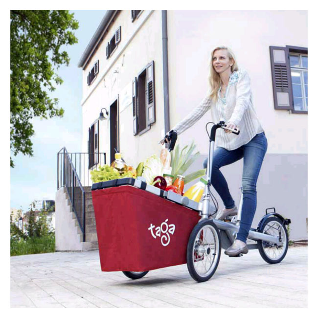 City Bike Taga 1.0 con cesto