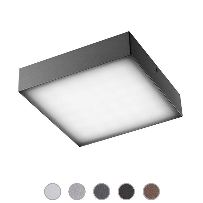 Ares Applique/Plafoniera Beta LED 3W L 11,8 cm IP65 Outdoor per esterno e giardino