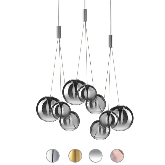 Studio Italia Design Sospensione Random LED 9W L 29 cm
