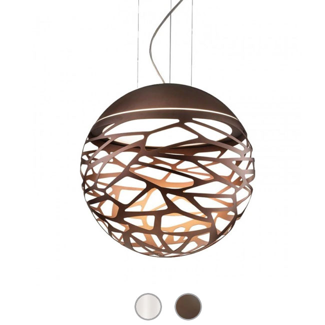 Studio Italia Design Sospensione Kelly Sphere 3 luci E27 Ø 50 cm