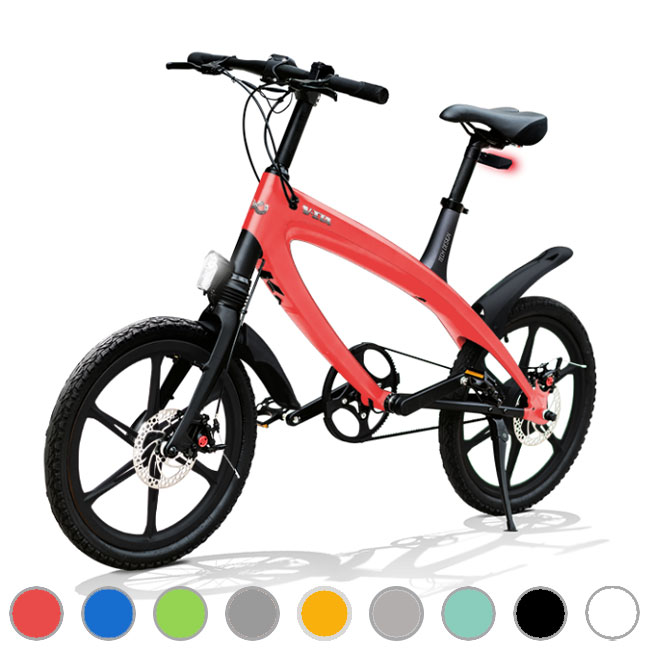 E-City Bike V-ITA Evolution Solid con tecnologia Bluetooth