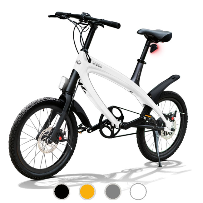 E-City Bike V-ITA Smart Solid con ingresso USB