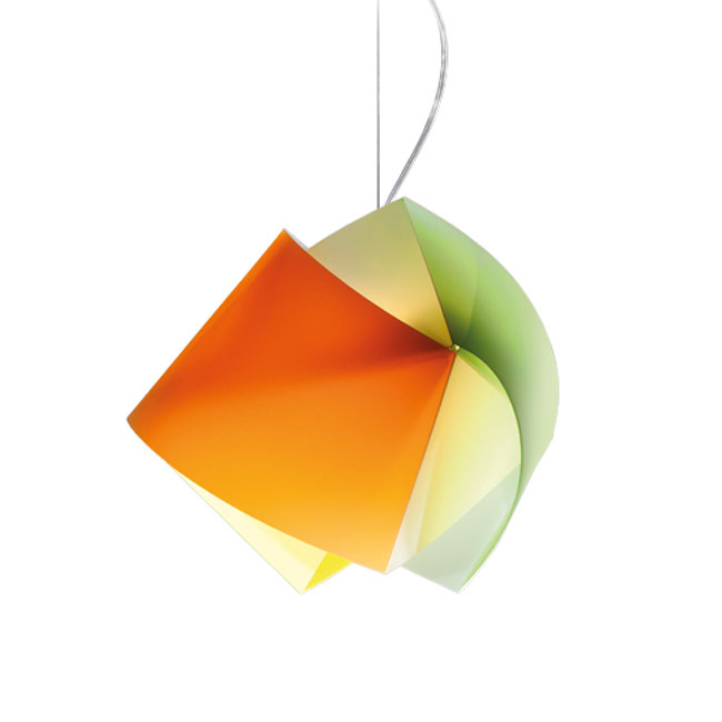 Slamp Sospensione Gemmy New Multicolor 1 Luce E27 L 42 cm