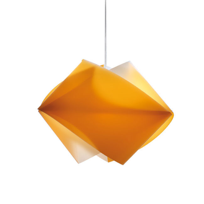 Slamp Sospensione Gemmy Orange 1 Luce E27 L 42 cm