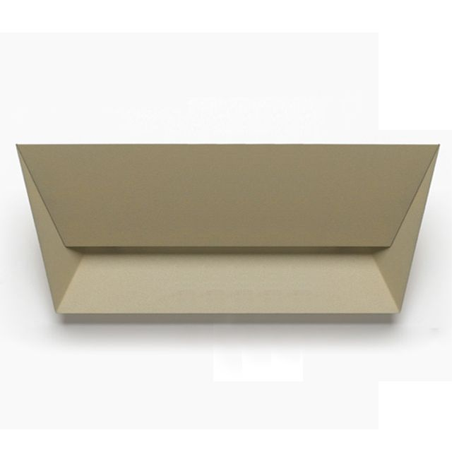 Lumen Center Applique Mail 1 luce R7s L 34 cm Grigio sabbia