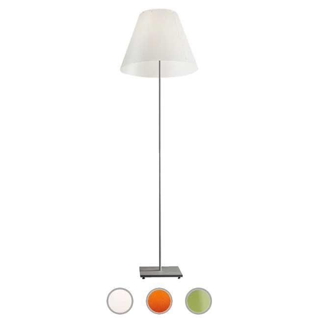 Luceplan Outdoor Piantana Grande Costanza Open Air 1 Luce E27 H 221 cm IP44