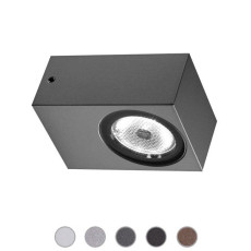 Ares Applique Epsilon LED 3W L 5,5 cm IP65 Outdoor per esterno e giardino