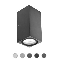 Ares Applique Delta LED H 10 cm IP65 LED 3W Outdoor per esterno e giardino