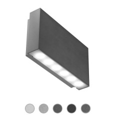 Ares Applique Gamma LED 2,5W L 13 cm IP65 Outdoor per esterno e giardino