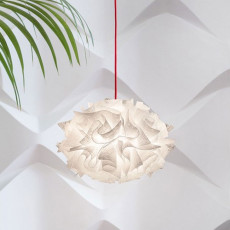 Slamp Sospensione Veli Mini Single 1 luce E27 Ø 32 cm Couture