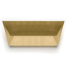 Lumen Center applique Mail L 1 luce 2G11 L 56 cm Foglia oro