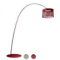 Foscarini Piantana Twiggy Grid LED 31W H 195-215 cm Outdoor per Esterno e Giardino