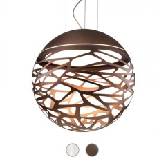 Studio Italia Design Sospensione Kelly Sphere 3 luci E27 Ø 80 cm