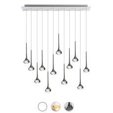 Axo Light Sospensione Fairy LED 81,6W H 250 cm