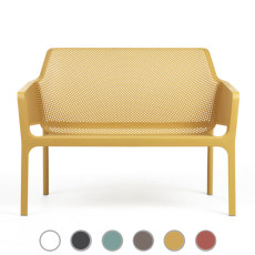 Nardi Panca Net Bench L 116 cm Impilabile Outdoor