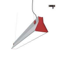 Martinelli Luce Sospensione Sound LED 64W L 150 cm Dimmerabile