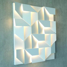 Nemo Wall Shadows grand Applique LED 55W L 90 cm