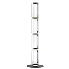 Flos Piantana Noctambule 4 High Cylinders Big Base H Modulo 53 cm LED 45 W H 217 cm