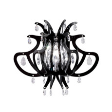 Slamp Applique Lillibet Mini Nero 1 Luce E14 L 38 cm