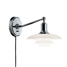 Louis Poulsen Applique PH 2/1 1 luce E14 L 29,6 cm