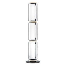 Flos Piantana Noctambule 3 High Cylinder Small Base H Modulo 53 cm LED 36 W H 164 cm