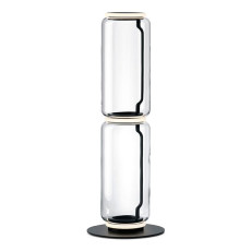 Flos Piantana Noctambule 2 High Cylinder Small Base H Modulo 53 cm LED 27 W H 110 cm