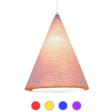 In-es Art Design Sospensione JAZZ STRIPE 1 Luce E14 H 31 cm
