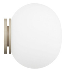 Flos Applique/Plafoniera Mini Glo-Ball C/W 1 Luce G9 Ø 11,2 cm