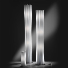 Slamp Piantana Bach Large White 2 Luci E27 H 116 cm