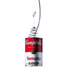 Ingo Maurer Sospensione Canned Light 1 luce G9 Ø 8,5 cm