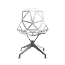 Magis Chair One 4Star, Sedia Bianca a 4 razze