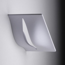 Lumen Center Applique Hinode LED 42W L 33 cm Dimmerabile Grigio perla