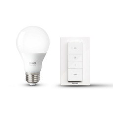 Philips Hue Wireless dimming kit Lampadina + interruttore dimmer E27 9,5W Ø 6,1 cm