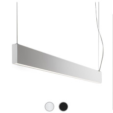 Panzeri Giano Sospensione LED 77W L 151,5 cm Dimmerabile