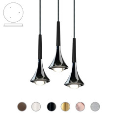 Studio Italia Design Sospensione Rain LED 27W Ø 8,5 cm