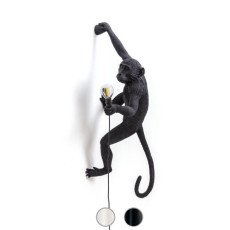 Seletti Applique New Monkey 1 Luce E14 H 76,5 cm per esterno