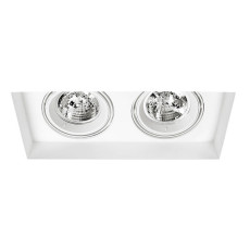 Sforzin Incasso a Soffitto Thyra Twin LED L 42x21 cm