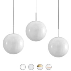 Sillux Family Ball Sospensione 3 Luci G9 LED Ø 16 cm