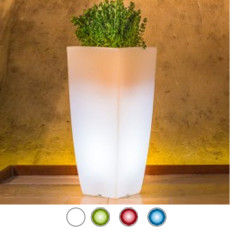 Monacis Vaso Luminoso STILO SQUARE TOP BRIGHT H 90 CM