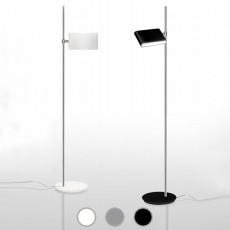 Danese Milano Piantana Two Flags LED 35,5W H 183 cm
