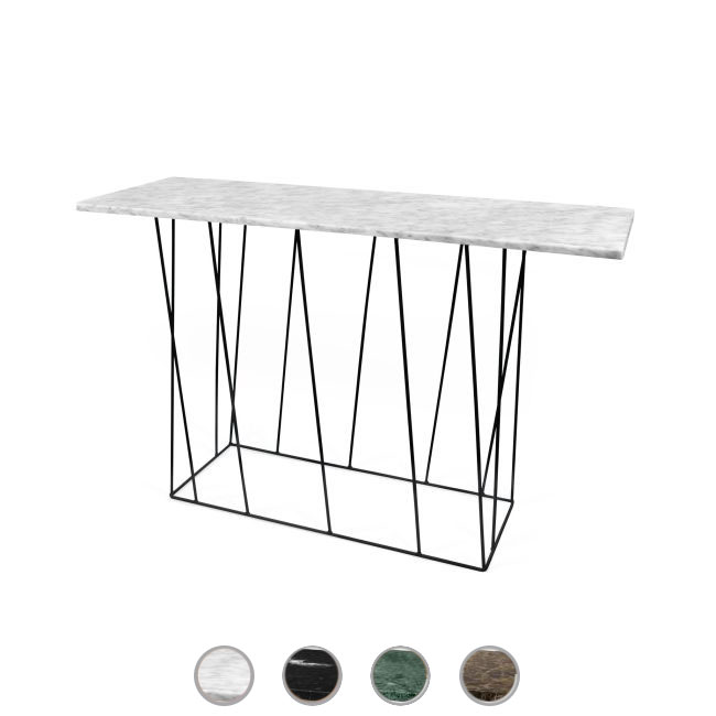 TEMAHOME Consolle Helix 120 Marmo L 120cm
