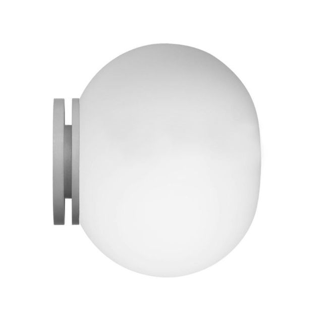 Flos Applique Mini Glo-Ball C/W 1 luce G9 Ø 11,2 cm