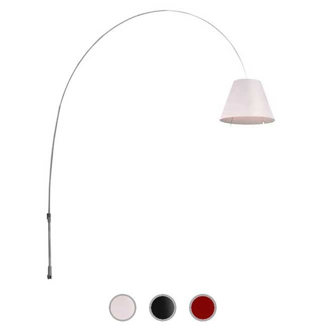 Luceplan Applique Lady Costanza 1 Luce E27 H 248 cm